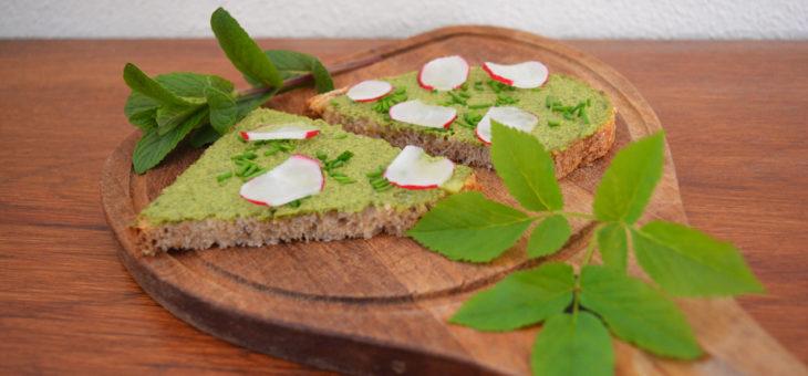 Recept: Zevenblad-munt spread